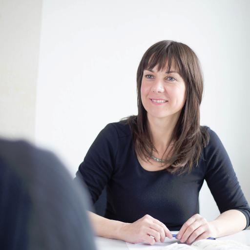 Trainerin Katja Wolter zum Seminar Sichtbarkeit & Selbstpräsentation mit Fotoshooting