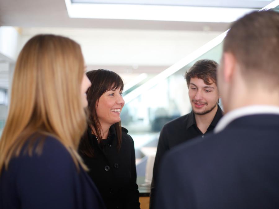 Politikcoach und Wissenschaftscoach Katja Wolter im Gespräch