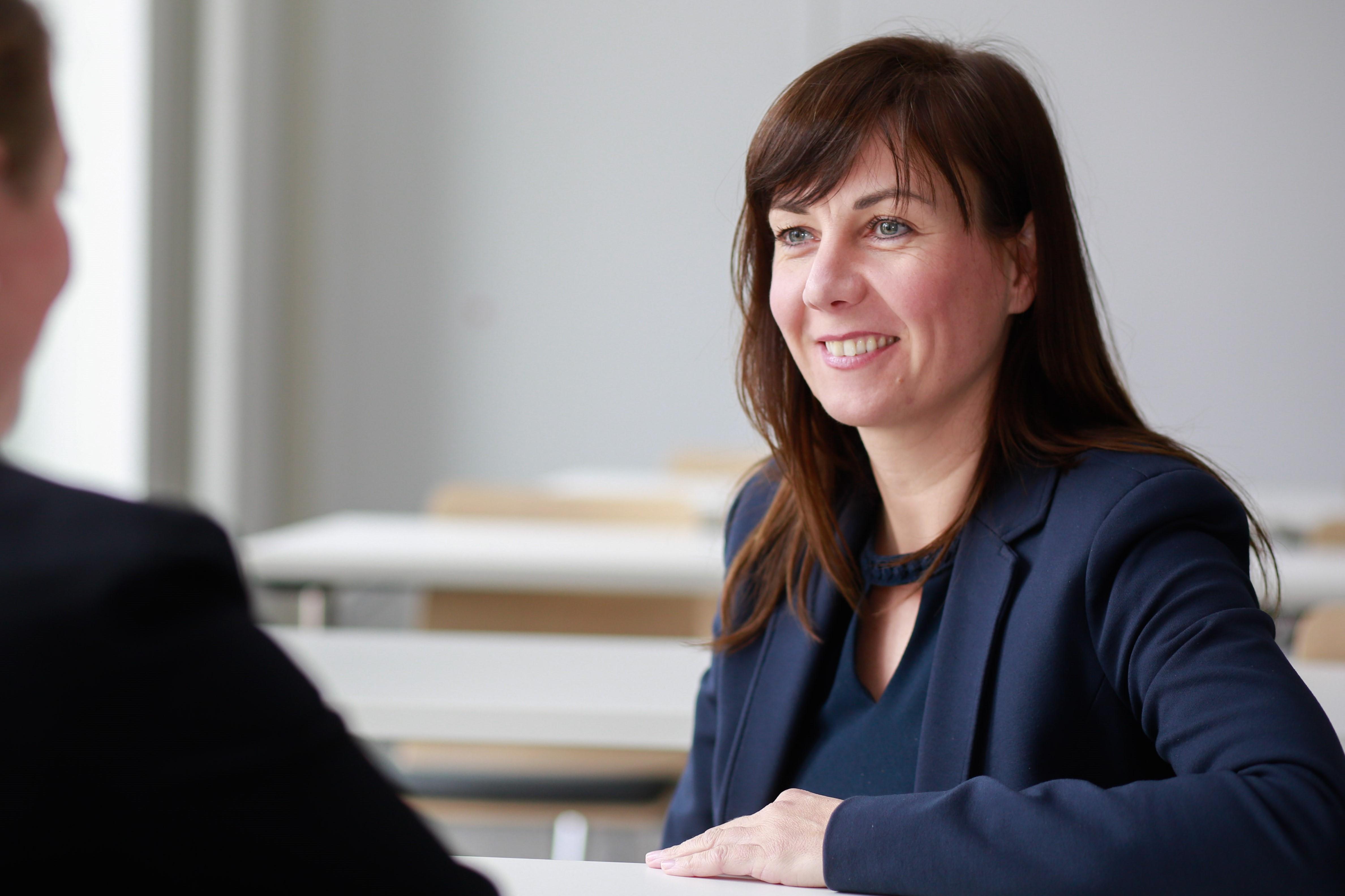 Trainerin Katja Wolter zum Seminar Karriereplanung