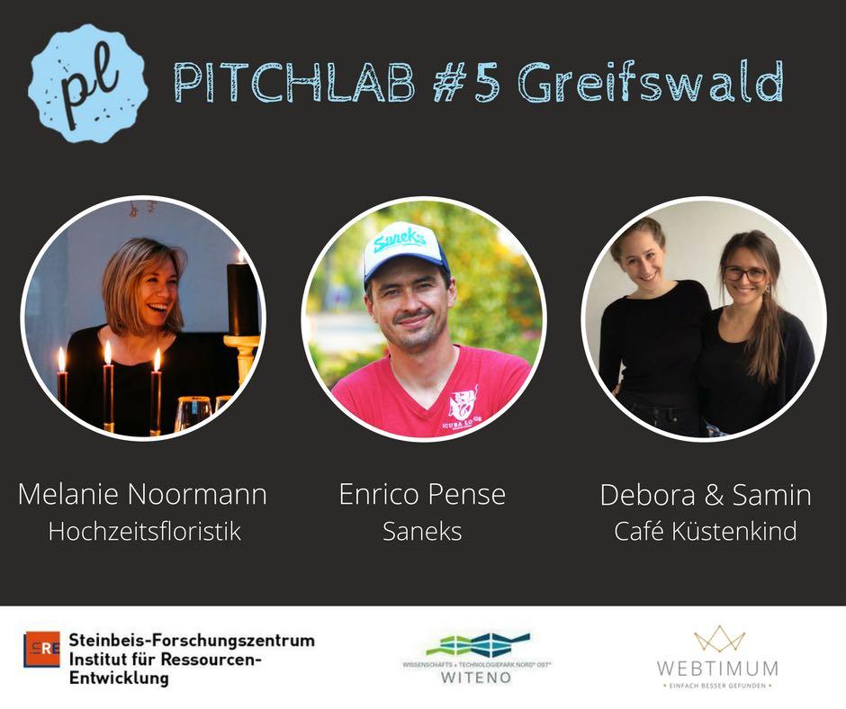 PitchLab #5 Das Netzwerkevent mit Melanie Noorman, Enrico Pense, und den Küstenkindern