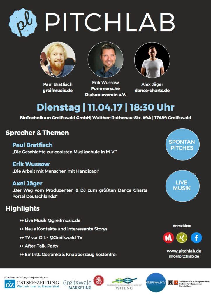 Katja Wolter moderiert das PitchLab - Das Netzwerkevent in Greifswald