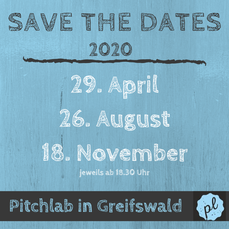 PitchLab - Save the Dates 2020